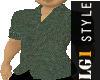 LG1 Green Linen Shirt