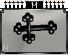 : M : Cross stud [F]