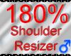 *M* Shoulder Resizer 180