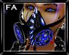(FA)Blue Smoke Gasmask