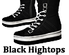 Hightop Shoes Black