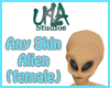 Alien Head (Female)