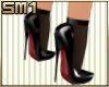 SM1 7in Blk Str Heel w/s