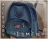[Is] Denim Backpack M