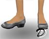 Low heels (gray)