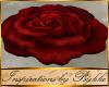 I~Rouge Red Rose Rug