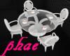 PHAE| White Glass Dining