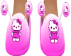 HKitty pink slippers(M)