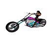 Purple Flames bike