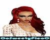 red hair long