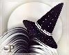 Witch Black Glitter Hat