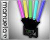  M  Disco Lights x5