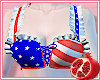 🎀 Patriotic Bra Top