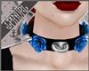 K| Rockabilly Collar Blu