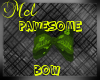 Green Pawesome Bow