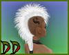White Friesian Mohawk