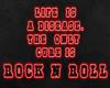 Rock'N Roll neon  sign