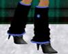 ! Blue SnowFlake Sox