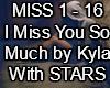 I Miss U So Much(Stars)