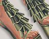 I│Ruffle Add-On Khaki