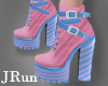 Cotton Candy Boots