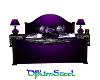 purple dragon bed