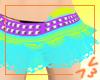 Blue Frilly skirt :3