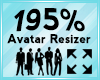 Avatar Scaler 195%