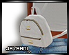 CoCo Mini Backpack White