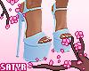 Dancer Heels Blue