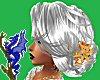 Silver Fannie w Y Flower