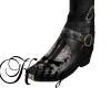 (K)Biker skull boots