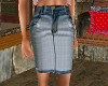 TF* Jean Skirt denim