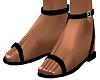 Black Riyna Sandals