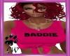 CW Baddie Pink Tie Top