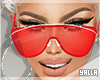 Clear SunGlasses RED