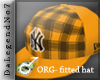 [BE] Orange fitted hat