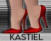 K| Sannie Pumps Red
