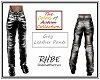 RHBE.GreyLeather Pants