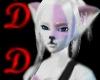 DD Pink Line Wolf Tail
