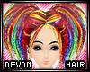 * Devon - rainbow paint