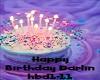 Happy Birthday Darlin♥