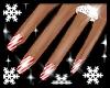 *OI* Candycane Nails