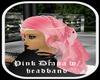Pink Diana Hair