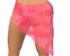 Pink lace sarong