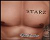 Starz Chest Tattoo REQ