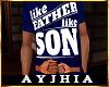 """a"""" FatherLikeSon T Blu"""