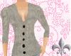 [ss] Grey V-Cut Sweater