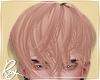 Rose Blond Messy Hair