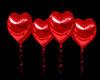 GL-Red Heart Balloons